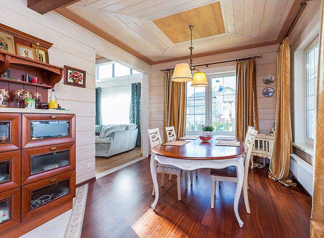 Дом из клееного бруса от компании «Строй Хауз»