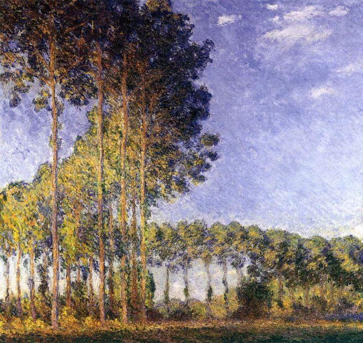 Λεύκες στην όχθη  παραποτάμου του Σηκουάνα  (1891)