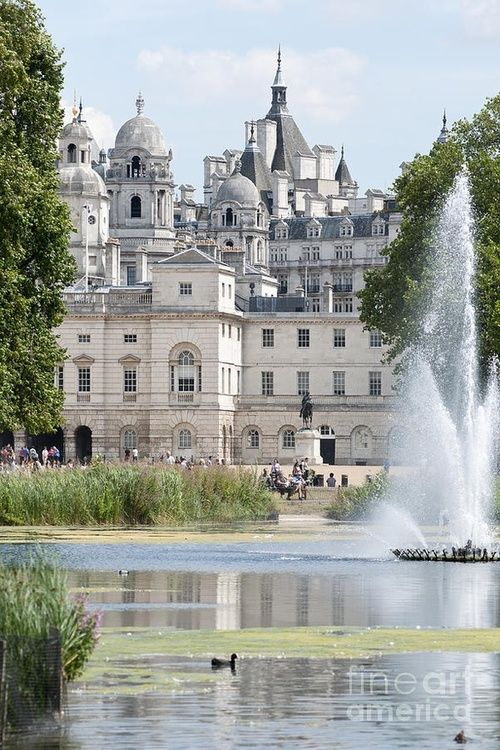 St James Park Lake, London.