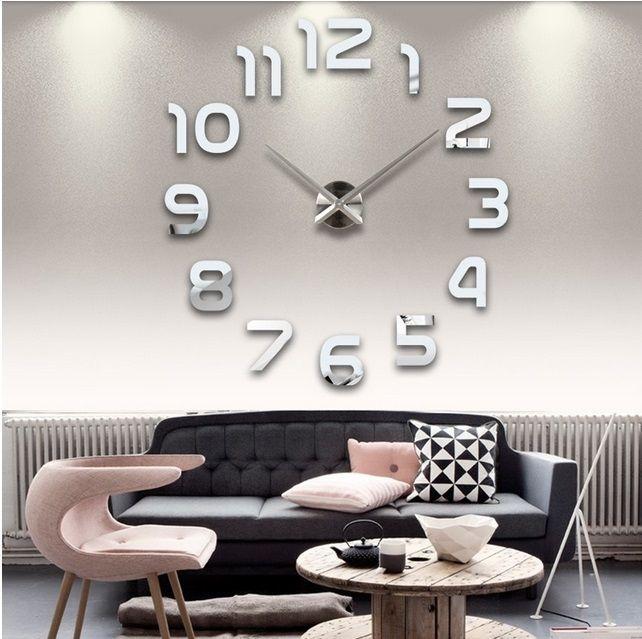 Nalepovacie hodiny na stenu moderné