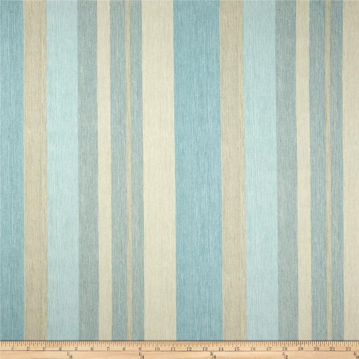 Kitchen Curtains Fabric Curtains Fabric Stripe Drapes: Braemore Remembrance Stripe Aquamarine