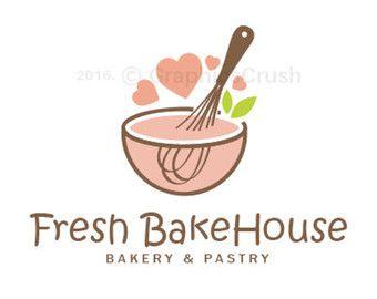 Cupcake Logo Design Bakery Logo Pastry Logo Sweet by GraphicsCrush