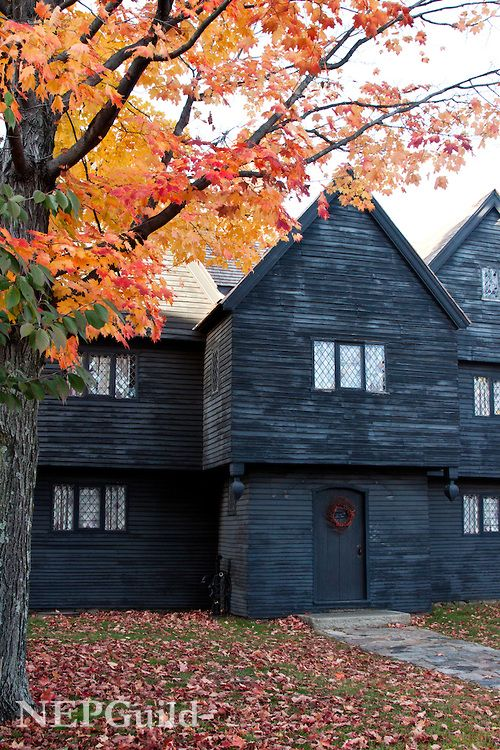 Folger Salem Witch House 1692 8 Top 10 Halloween Destinations Around The World