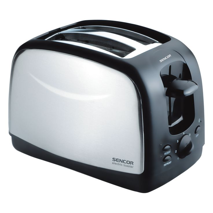 Toaster STS 2651 - Suitable for making both thick and thin toasts - Stainless steel design - Button for toasting frozen bread