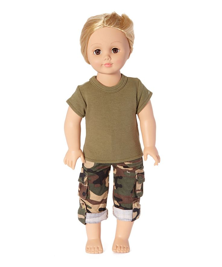 This Army Outfit Set for 18'' Doll by American Fashion World is perfect! #zulilyfinds