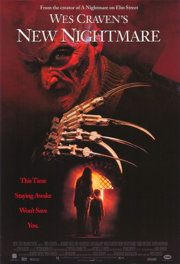 Wes Craven's New Nightmare 11x17 Movie Poster (1994)