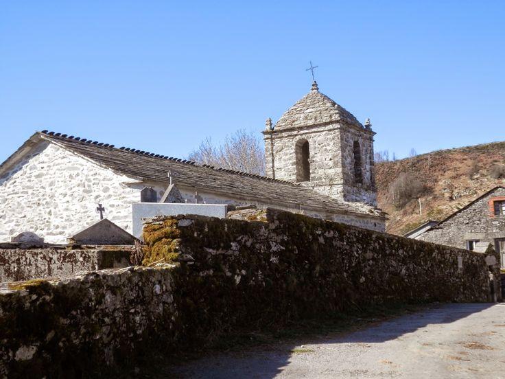 Iglesia de Santo Estevo, Liñares, Lugo, Camino de Santiago