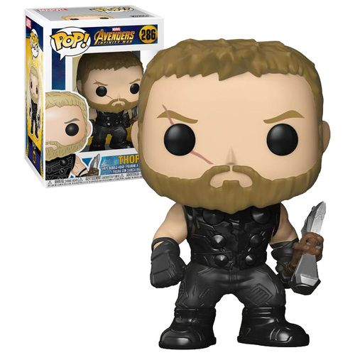 Funko POP! Marvel Avengers: Infinity War #286 Thor (2018 Movie) - New, Mint Condition. https://www.supportivepc.com/funko-pop-marvel-avengers-infinity-war-286-thor-20 OR https://www.supportivepc.com/collectibles-pop-culture-toys/avengers-infinity-war/ #Funko #FunkoPop #Marvel #Avengers #InfinityWar #AvengersInfinityWar #Collectibles