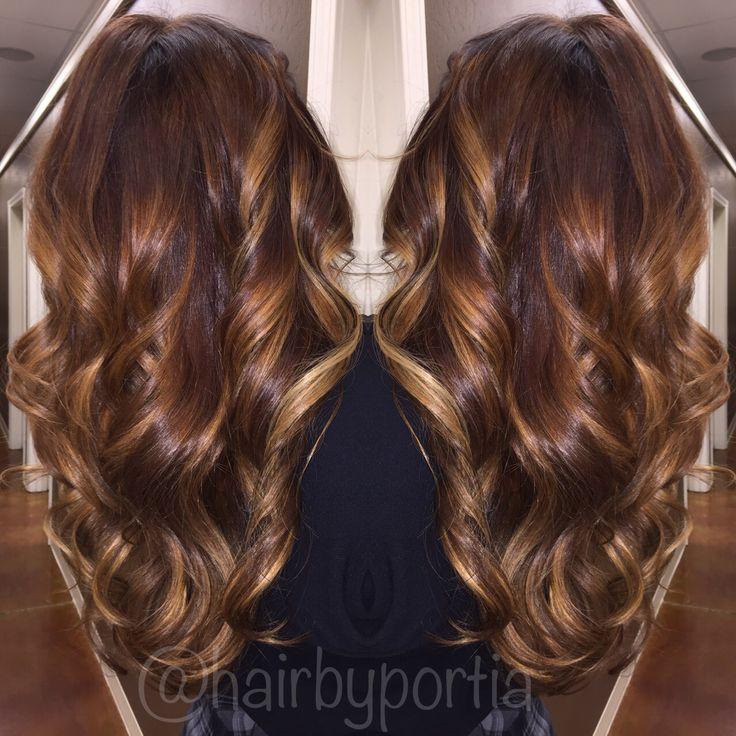 Ecaille hair colour