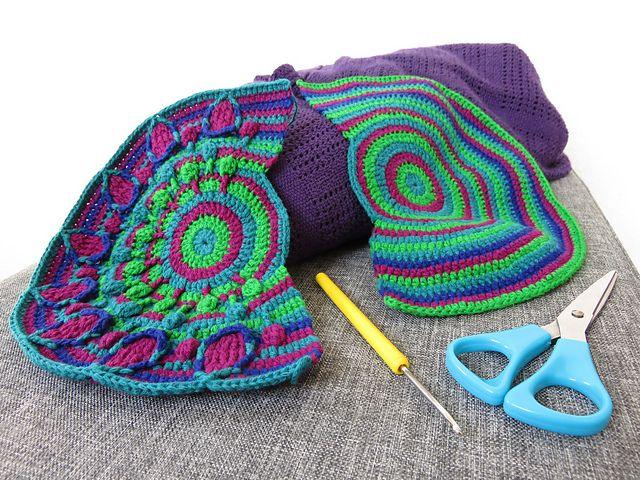Peacock Tail Bag Crochet