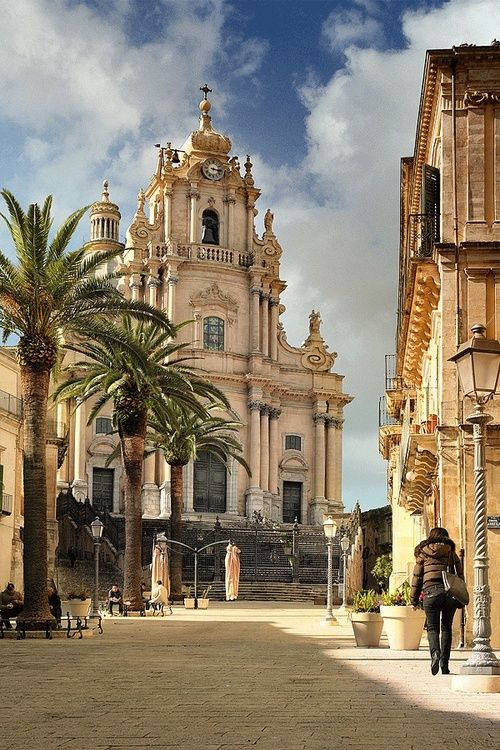 Ragusa Ibla, Sicily                                                                                                                                                      More