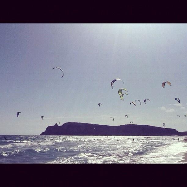 Spiaggia del Poetto - #Cagliari   #beach #sea    www.sardegna.com