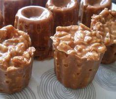 Recette Bouchées soufflé au carambar par christine MICHEL - recette de la catégorie Desserts & Confiseries