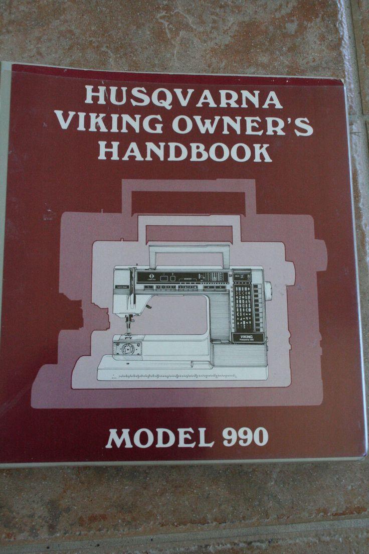 viking 990 sewing machine manual