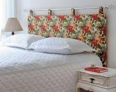 Colcha como cabeceira de cama : Acessórios e decoração por ZAP