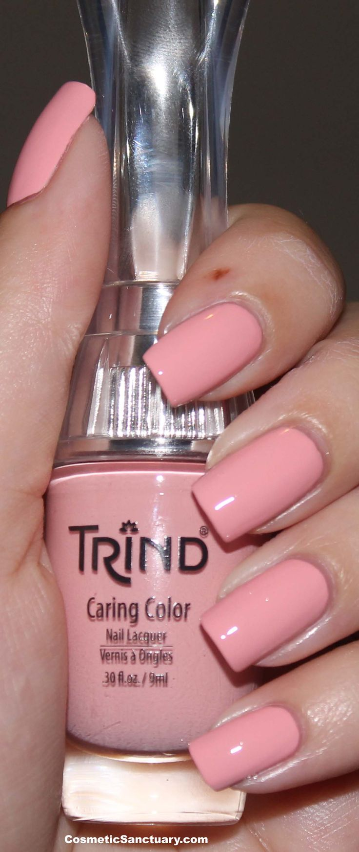 Trind Pastel Peach- An in store favorite! Vooral verkrijgbaar bij schoonheidssalons en drogisterij dio Anne in Bussum weet je er alles over te vertellen