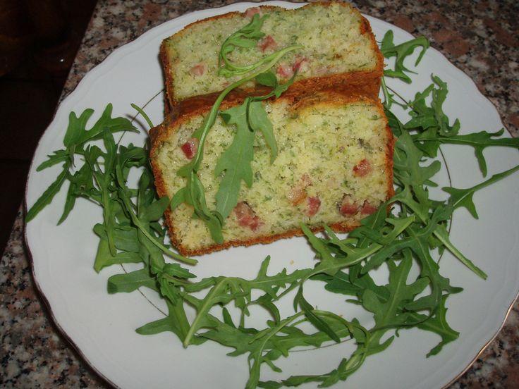 Plumcake rucola e pancetta TM31 - http://www.food4geek.it/ricette/plumcake-rucola-e-pancetta-tm31/