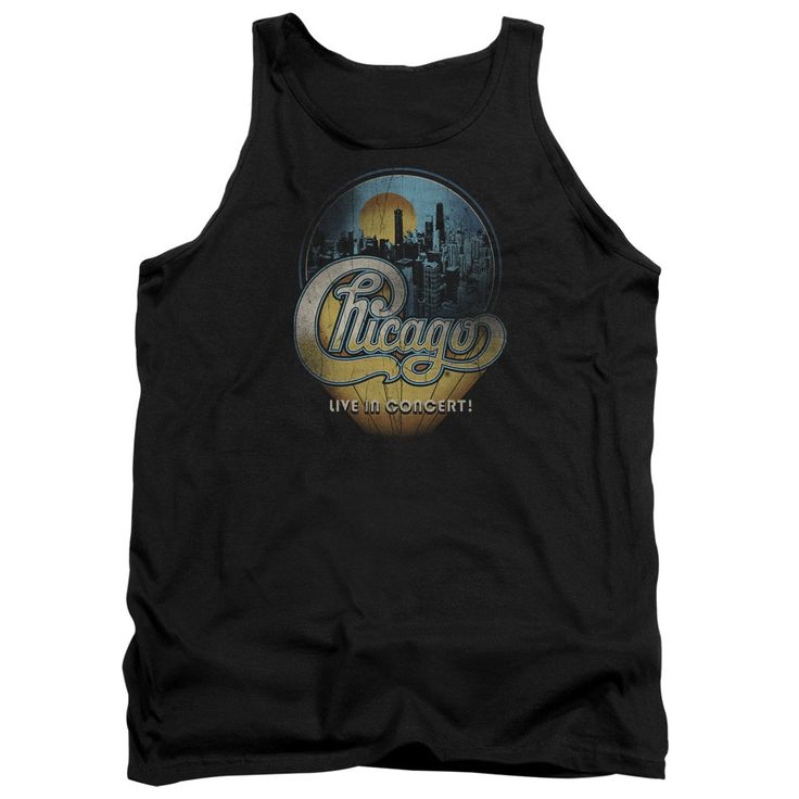 """Checkout our #LicensedGear products FREE SHIPPING + 10% OFF Coupon Code """"Official"""" Chicago / Live-adult Tank - Chicago / Live-adult Tank - Price: $29.99. Buy now at https://officiallylicensedgear.com/chicago-live-adult-tank"""