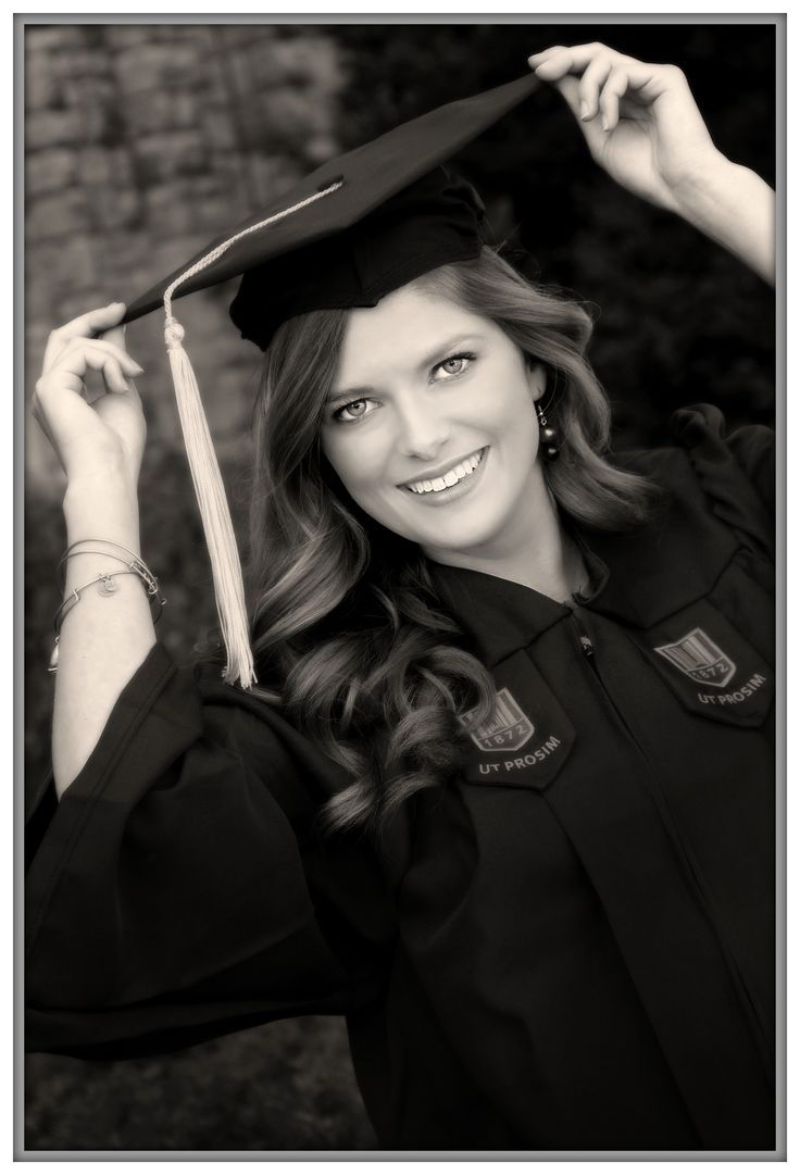Graduation Picture/Image by John Pellican, Photographer from Fincastle, VA; at Virginia Tech in Blacksburg, VA. Cap and Gown, Black and White www.johnpellicanphotographer.blogspot.com