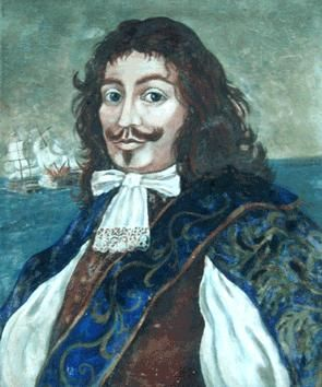 Admiral Sir Henry Morgan (ca. 1635 – 25 August 1688) was an Admiral of the Royal Navy, a privateer, and a pirate who made a name for himself during activities in the Caribbean, primarily raiding Spanish settlements. He was one of the most notorious and successful privateers in history, and one of the most ruthless who worked in the Spanish Main.