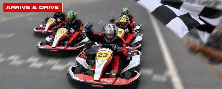 Karting at Dubai Autodrome