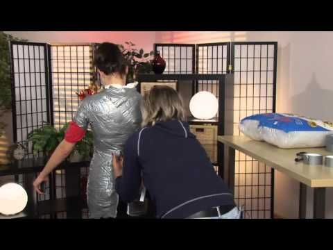 Kari Wunderlich of Stitches.TV shows you how to make a custom dress form tailored to your body. No need to purchase an expensive dress form--all you need is ...