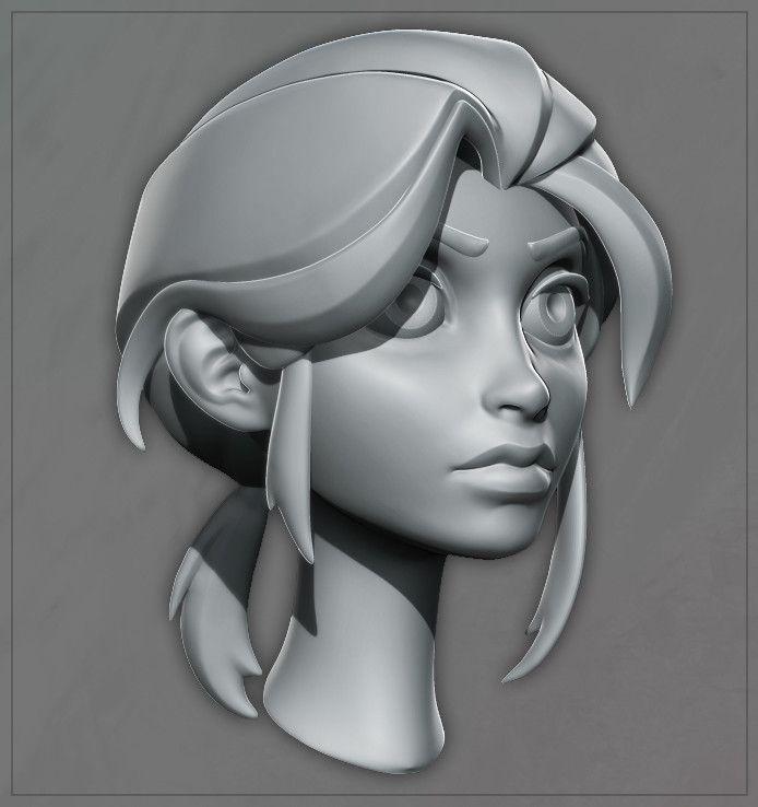 ArtStation - Leyla, Dusty Nolting                                                                                                                                                     More