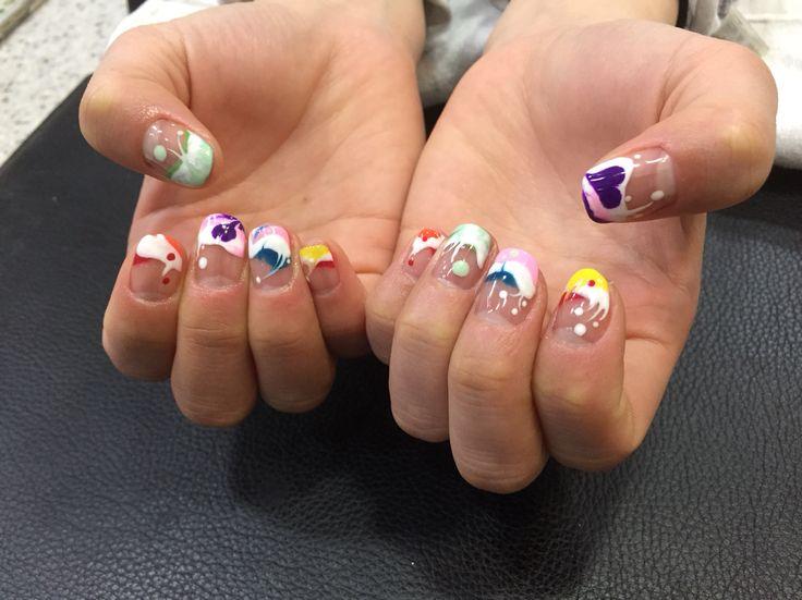 젤아트 마블아트 nail
