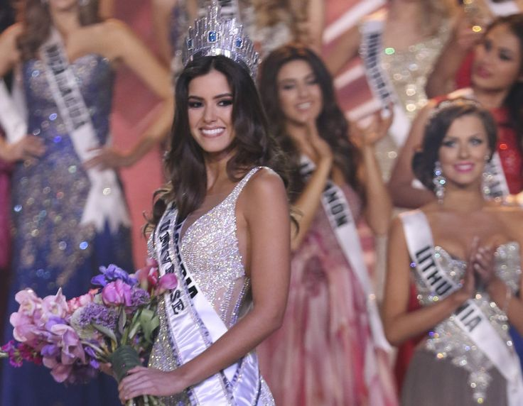 Miss Universo 2014. Paulina Vega, Miss Colombia. GETTY