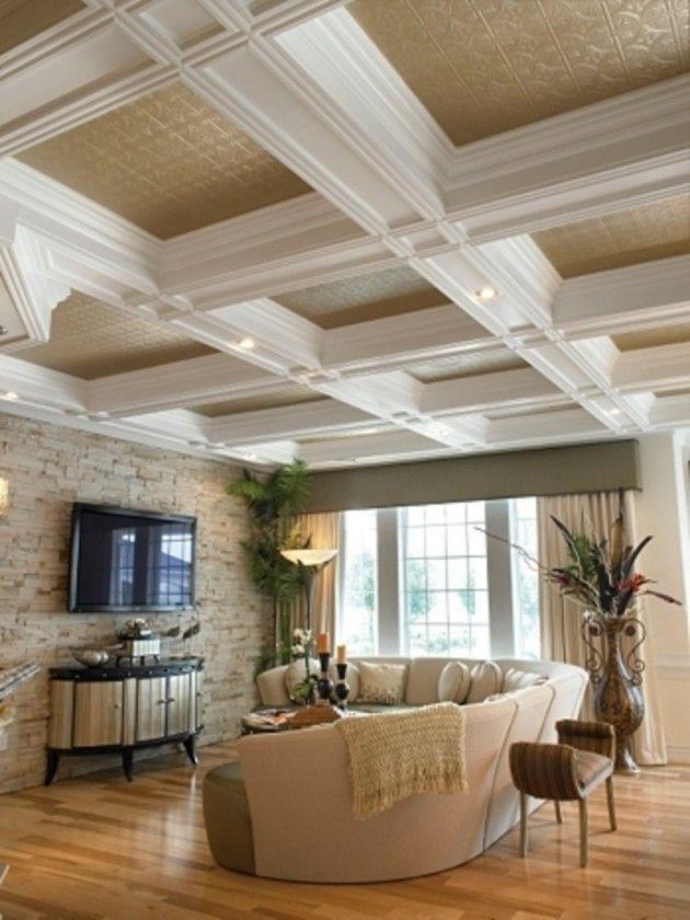 49 Modern Unique Ceiling Design Ideas Recessed Lighting Living