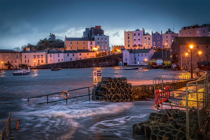 ~ high tide in Tenby harbour ~ Pembrokeshire ~ Wales ~ UK ~