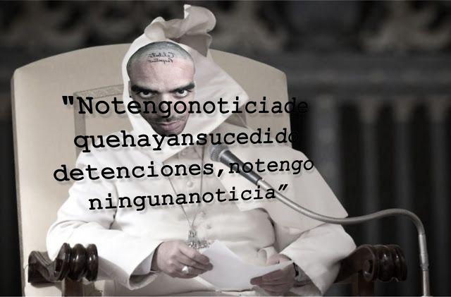 #CAsT0rJABAo Sin #Noticias del #Papa #meme