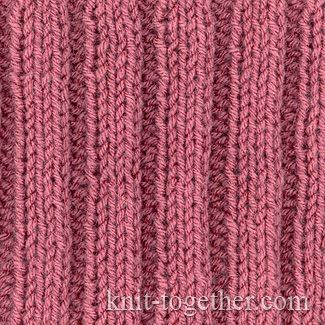 Simple Knit And Purl Patterns : 117 best images about Knit and purl stitch patterns on Pinterest Ribs, Knit...