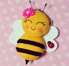 Moldes para hacer abejas de fieltro01