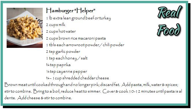 Hamburger 'Helper'