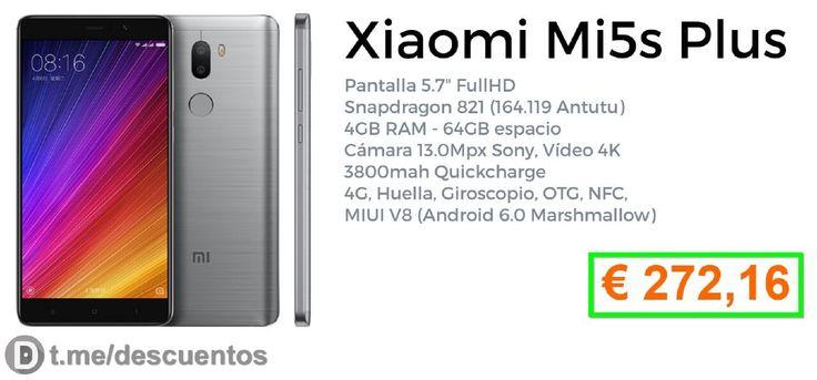 La última oferta Xiaomi Mi5S y MI5S Plus [Actualizado mayo 2017] - http://ift.tt/2kgx9FN