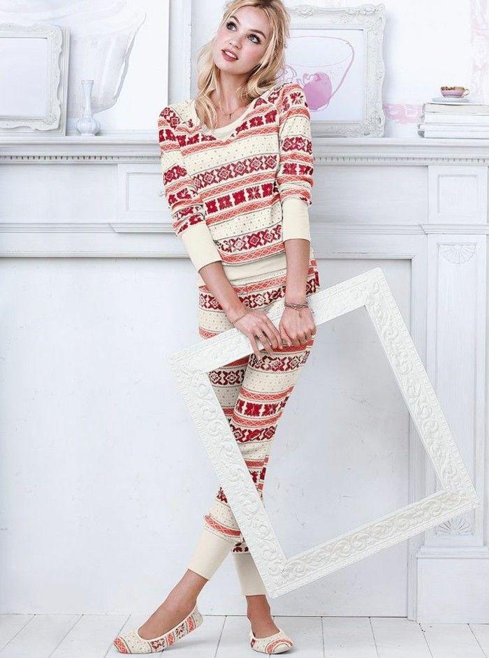 joli modele pour pyjama pilou pilou et les pyjamas chauds femme