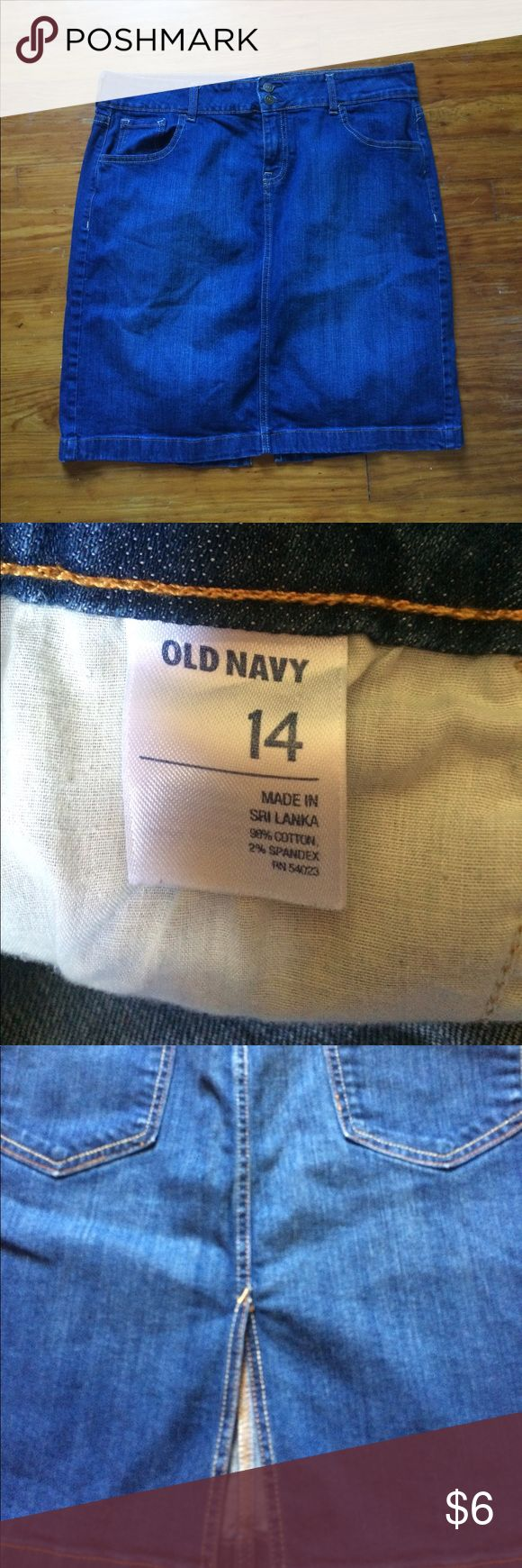 Old navy Jean skirt Like new condition Old Navy Skirts