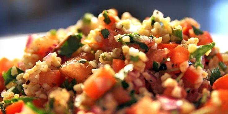 Tabbouleh er salaten som spises mest i Levanten. Prøv den da vel!