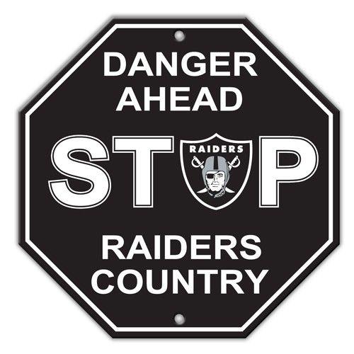 pics of raiders logo   Raiders Stop Sign   Pro Football Hall of Fame