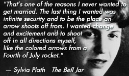 For more information about Sylvia Plath: http://www.Dailyliteraryquote.com/dlq-literature-magazine/  Courtesy of http://www.DailyLiteraryQuote.com.  More quotes and social literary discussions at CulturalBook.com