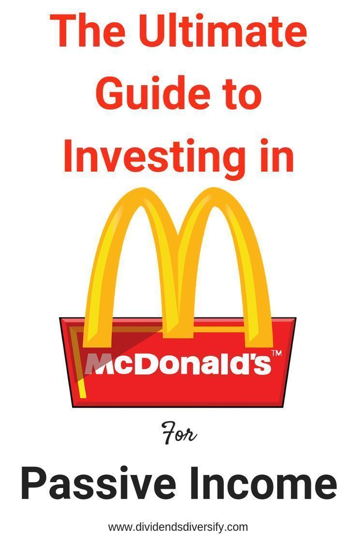 Mcdonald S Dividend Plump And Juicy In 2020 Investment