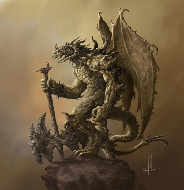 humanoid dragon_final by TheBeke on deviantART