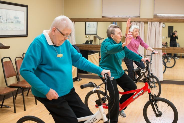 History in the making with the first STRIDER senior learn to ride class. Really wonderful to see what you can do in your 80's!