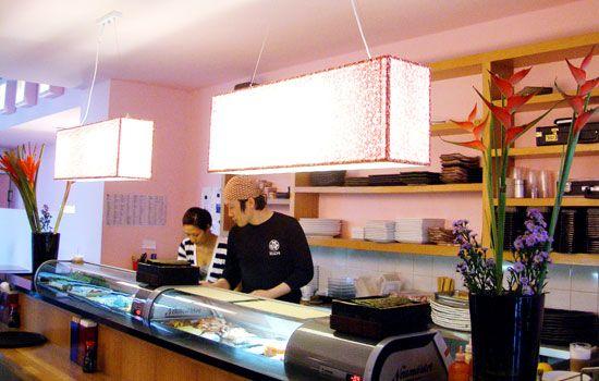 Trendy Japanese restaurant Kuchi   Mitte, #Berlin where chefs eat