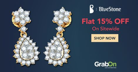 Jewelry Is Any Woman's Best Friend & Best Gift As Well! #Bluestone Offers Flat 15% Off. Grab Now - http://www.grabon.in/bluestone-coupons/ #SaveOnGrabOn