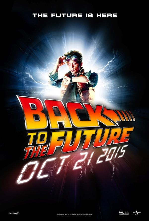 Back to the Future One Sheet