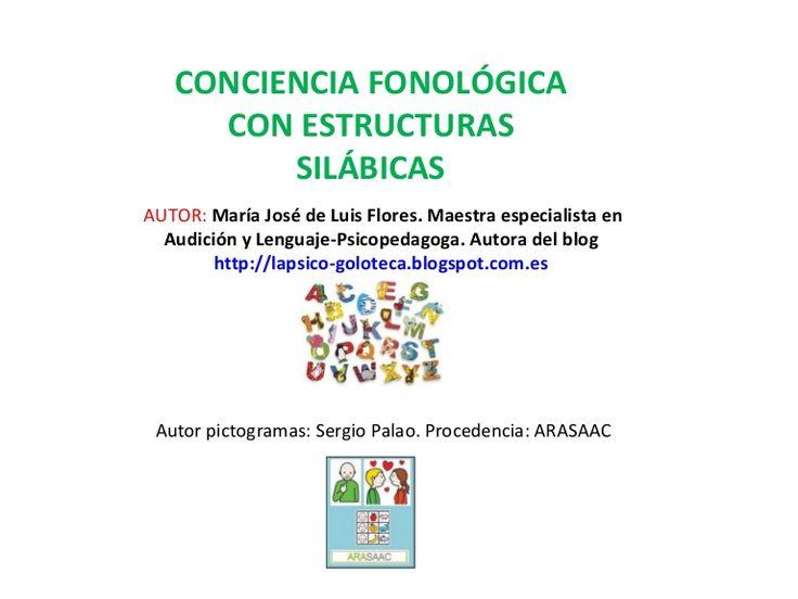 AUTOR: María José de Luis Flores. Maestra especialista en Audición y Lenguaje-Psicopedagoga. Autora del blog http://lapsico-goloteca.blogspot.com.es CONCIENCIA…
