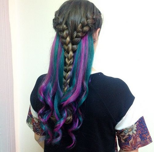 Secret Rainbow Hair -- here's how to get this enchanting look!