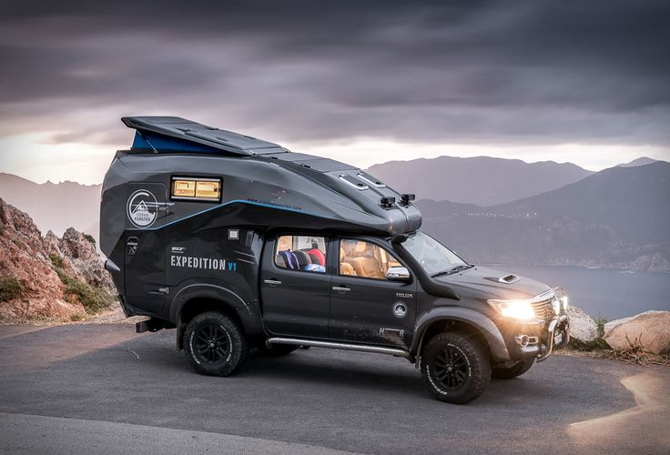 """Toyota Hilux Expedition V1 - what an odd spewed up """"last minute thought"""" design, hm, addition..."""